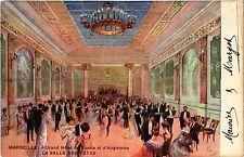 CPA Marseille - Grand Hotel de Russie t d'Angleterre La Salle des Retes (256396)