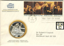 International Society Postmasters Medallic Cover-U.S.Bicentennial of Independnce