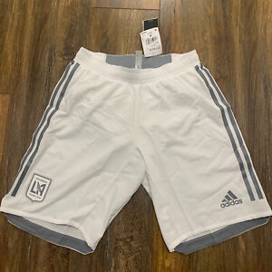 LAFC MLS Adidas Climalite Authentic Soccer Shorts Size S