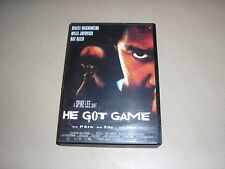 "DVD,""HE GOT GAME"",denzel washington,milla jovovich,ray allen"