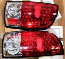 Tail Lights Dodge Ram 1500 2002-2006 Ram 2500 3500 2003-2006 LED - Red Clear