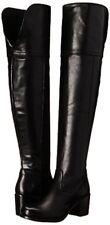 Frye Kendall Chunky Heel Over-the-Knee OTK Cowboy Boot Black 5.5 $498 New