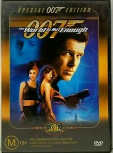 The World Is Not Enough DVD (PAL, 2012) FREE POST