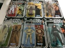 "NEW STAR WARS STORMTROOPER C-3PO 40th Anniversary Wave 2 COMPLETE SET 6"" FIGURES"