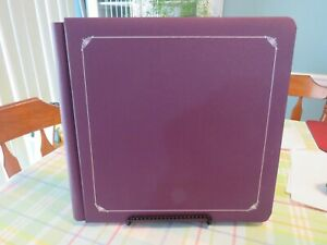 New - Creative Memories 12 x 12 Plum/Purple Album w/Pages