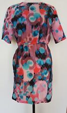A.D. by SPORTSGIRL Pinks/Aqua Print Dress Size 10