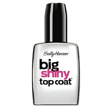 Sally Hansen Treatment Big Shiny Top Coat 0.4 oz (Pack of 5)
