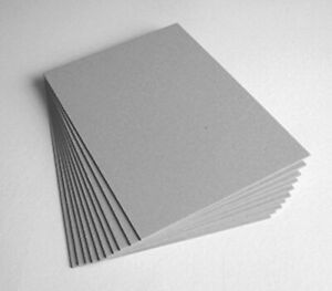 Pasted Protectafile Grey Mount Board Craft Card 1mm 1000 Micron  ( 10 SHEET )