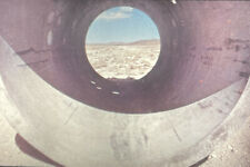 """Nancy Holt """"Sun Tunnels Great Basin Desert Utah"""" Land Art 35mm Slide"""