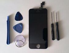iPhone 5c Negro LCD Pantalla Táctil Digitalizador Ensamblaje Recambio + Gratis