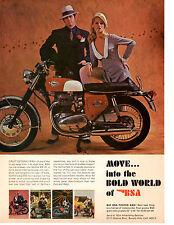 1968 BSA SPITFIRE MK IV MOTORCYCLE  ~  VINTAGE ORIGINAL PRINT AD