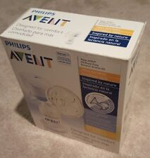 Sealed BRAND NEW Philips Avent single electric breast pump 6 pc travel SCF302
