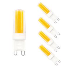 6pcs G9 Dimmable Led Light Bulb COB 0931 4W 110V Ceramics Light Warm White H