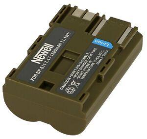 Akku Batterie Newell BP-511A f. Canon Mv-300, Mv-300i, Mv-30i, Mv-400i, Mv-430i