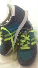 Adidas Ortholite - verde e grigio scuro con lacci gialli - N° 32 - USATE