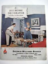 "Vintage 1955 ""Home Decorator"" Booklet for Sherwin-Williams w/ Lots of Pictures *"