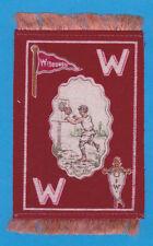 1910 Murad tobacco felt B33 UNIVERSITY of WISCONSIN Basketball player MINT!!