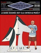 LES CAHIERS DE LA BD n°12 - LIVRE NEUF - La BD au musée ?