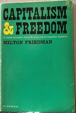 Capitalism and Freedom by Milton Friedman (Paperback,1965)
