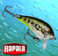 "Rapala Olive Green Muddler Mini Fat Rap 1.5"" Fishing Lure Model # MFR03 OGMD"