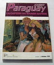 JOHNNY PARAGUAY - LA CAPTIVE DU BARON SAMEDI -EO- MALIK