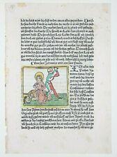 INKUNABEL,LEGENDA AUREA,HEILIGENLEBEN,JOH.BÄUMLER,AUGSBURG,1480,KOLORIERT,RAR