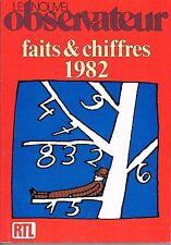 Le Nouvel Observateur   Faits et chiffres 1982 :
