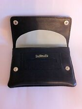 Black Leather Tobacco Cigarette Rolling Pouch- Black Dr Plumb's 5532