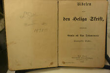 ANTIQUE SWEDISH BIBLE FROM 1893