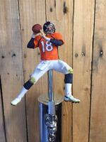 Denver Broncos Tap Handle PEYTON MANNING Beer Keg NFL Football ORANGE Jersey QB