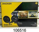 NEW - KICKER 46CSS654 6.5 inch Component Speaker System 300W -  IN BOX