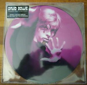 """David Bowie The Shape Of Things To Come 4 lim picture 7"""" vinyl limited rare new"""