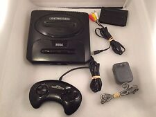 Sega Genesis Model 2 Console -  Complete Original System Bundle Black Lot Tested