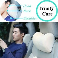 Car Headrest Neck Pillow for seat chair in auto Memory Foam cotton mesh cushion