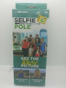 Compact Handheld Telescoping Monopod Selfie Pole for Cameras and Cell Phones