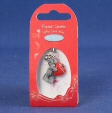 Me To You Tatty Teddy Bear Collectors Phone Charm - Red Love Heart # 0651