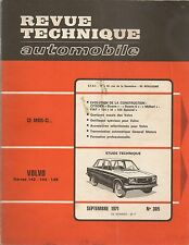 REVUE TECHNIQUE AUTOMOBILE 305 RTA 1971 VOLVO 142 144 145 CITROEN DYANE & MEHARI