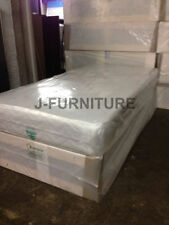 Coil Spring Medium Firm Traditional Beds with Mattresses