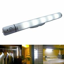 Lampe Led à capteur de mouvement, pivotant+autonome à pile pour armoire placard