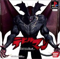 PS1 Devilman Devil man Japan PS PlayStation 1 F/S