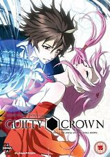 Guilty Crown - Series 1 - Part 1 (Blu-ray, 2013, 2-Disc Set) Combo pack Region A