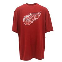 Detroit Red Wings Official NHL Kids Youth Size Athletic T-shirt New With Tags