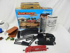HTF Ertl 3401 Farm Country Freight Train Set 1/64 S scale SOO LINE some missing