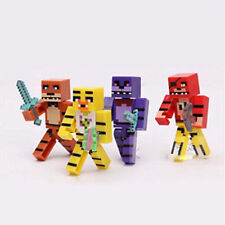 Five Nights At Freddys FNAF Bonnie Foxy With Weapon 4 PCS Mini Figure Gift Toys
