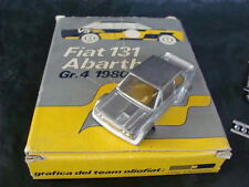 FIAT 131 ABARTH GR4 1980 GRAFICA TEAM OLIO FIAT CAR MODELS ITAL DESIGN KIT PONS