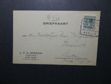 Netherlands 1928 Postcard / ARNHEM Cancel - Z12594