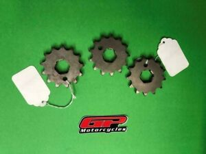 JT Front Countershaft Sprockets (Qty 3) 13T for Husqvarna 250 CR 95-97 360 CR/WR