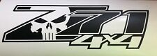 Z71 4X4 Punisher Chevy Silverado Chevrolet Sierra Stickers Decal SG Many Colors