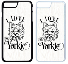 I Love My Yorkie Phone Case Cover iPhone 4 5 6 7 8 X XR XS Max Plus