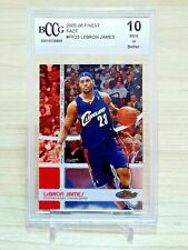 LEBRON JAMES 2005-06 FINEST FACT /1899 BCCG 10 MINT OR BETTER